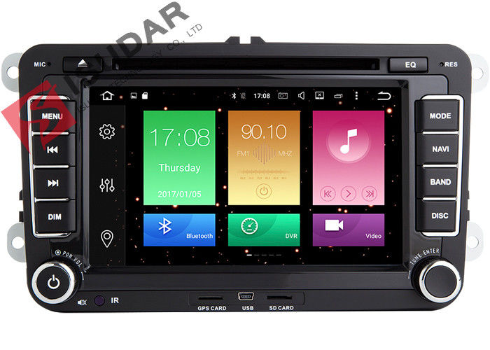 Android 6.0.1 VW Car DVD Player VW Amarok Head Unit Supports 4K Video Format