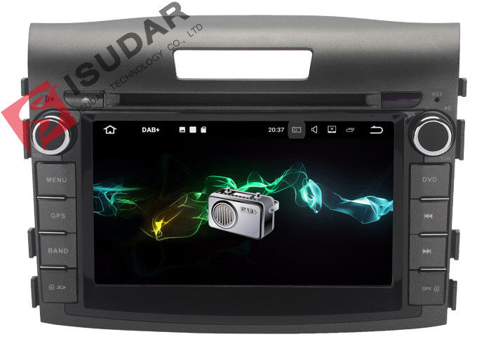 Audio / Subwoofer Output Android Car DVD Player For Honda Crv Gps Navigation System