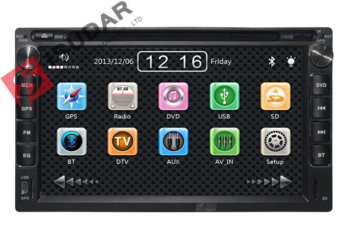 Chery A3 / A5 / Tiggo Car GPS Navigation DVD Player With Bluetooth 3G USB  Wince System