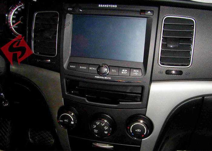 Wince System 7 Inch 2 Din Car DVD Player For Ssangyong Korando 2010-2013