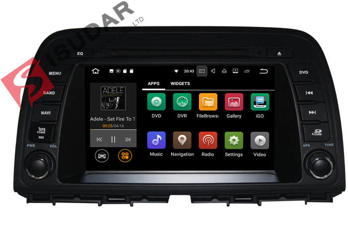 Quad Core 2G RAM Mazda Cx 5 Dvd Player , Android Auto Compatible Head Units