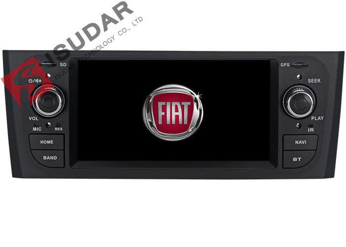Bluetooth Fiat Punto Dvd Player In Dash Sat Nav And Entertainment System 800*480 Pixels