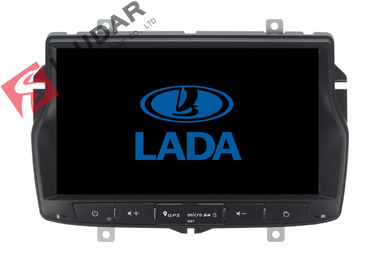 منوی روسی Lada Vesta Android Gps Car Stereo، 2 Din Android Head Unit TPMS پشتیبانی شده است